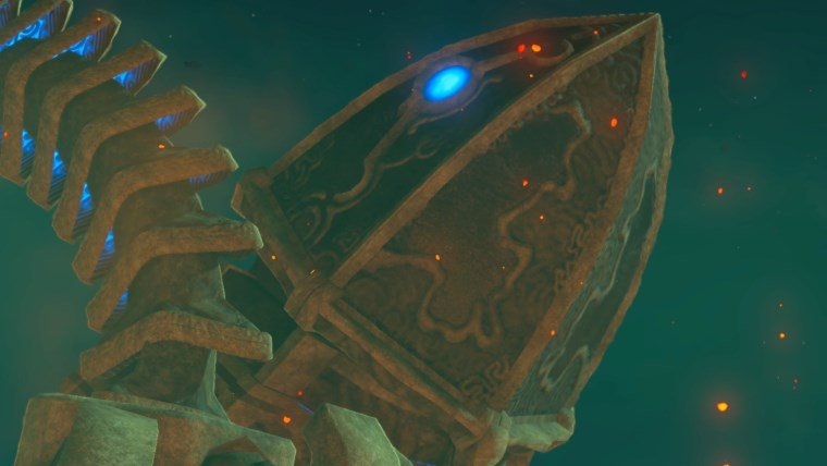 The Legend Of Zelda Breath Of The Wild Divine Beast Vah