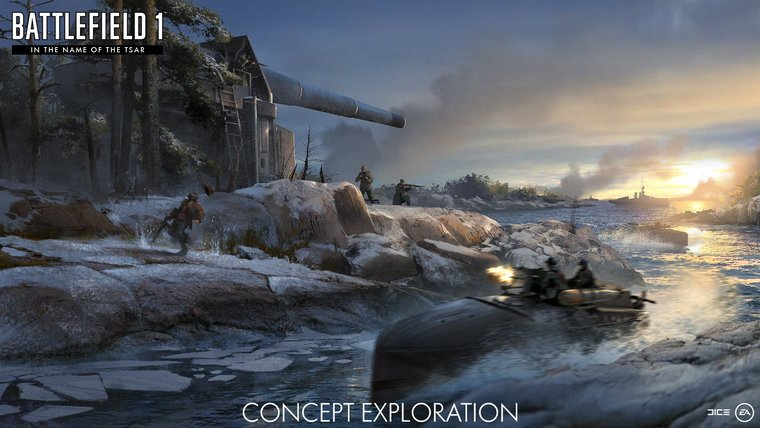 News  Xbox One PS4 PC GAMES In The Name Of The Tsar Battlefield 1