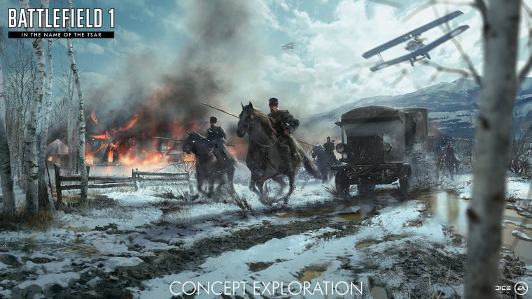 Next Battlefield 1 Expansion Explores The Harsh Russian Winter News  Xbox One PS4 PC GAMES In The Name Of The Tsar Battlefield 1