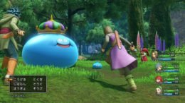 Dragon Quest XI battle