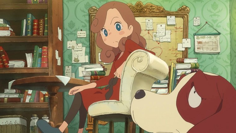 Layton's Mystery Journey 3DS Fall release date