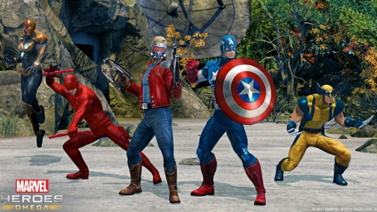 Marvel Heroes Coming To PS4, Xbox One This Spring News  Xbox One PS4 Marvel Heroes Omega Marvel Heroes