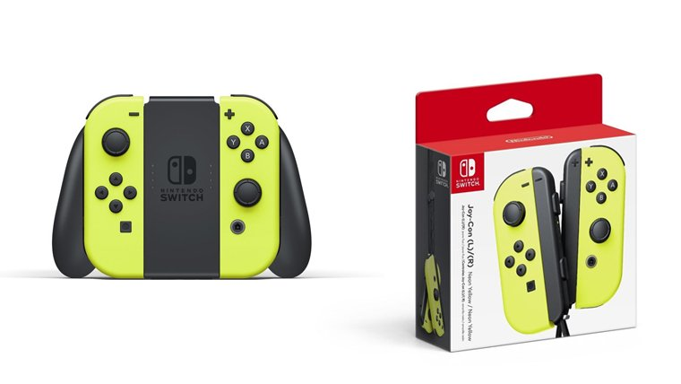 Nintendo Switch Joy Con Colors
