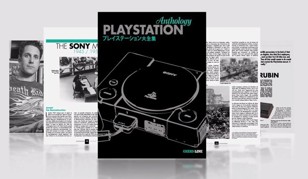 PlayStation Anthology Book Seeking Funding on Kickstarter News  PlayStation 4 playstation Kickstarter