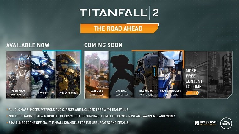 Titanfall 2's Upcoming Free Content Includes New Titan, Maps & More News  Titanfall 2 Respawn Entertainment
