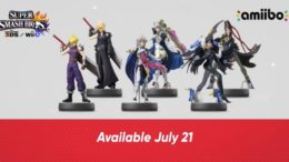 Corrin, Cloud, and Bayonetta Amiibo Revealed with Two Versions Each