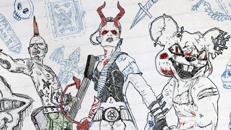 Drawn to Death Review Reviews  PS4 PlayStation 4 Drawn to Death