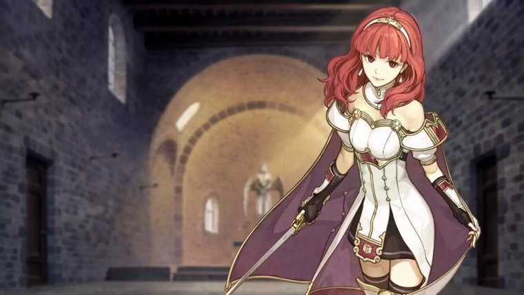 New Fire Emblem Echoes: Shadows of Valentia Trailer Shows Off Map And Battle System News Nintendo  Nintendo 3DS Fire Emblem Echoes Fire Emblem