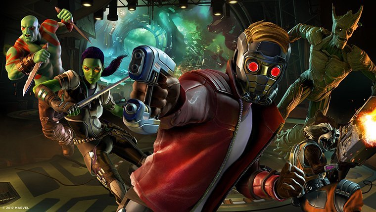Reviews  The Walking Dead: A New Frontier Telltale Tales from the Borderlands Guardians of the Galaxy
