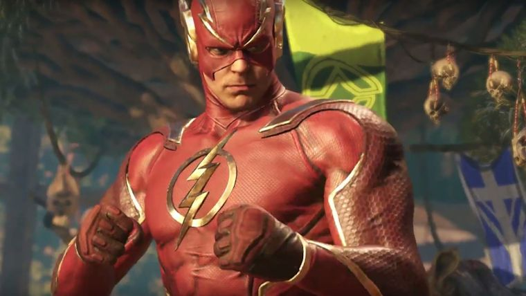 Injustice 2's Revamped Flash Gets Gameplay Trailer News  Injustice 2