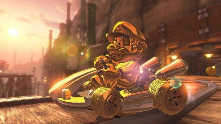 Mario Kart 8 Deluxe Guide How To Unlock Gold Mario Attack
