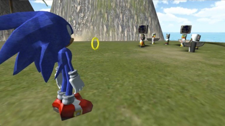 Sonic the Hedgehog VR Prototype was in the Works News  VR Sonic The Hedgehog Sonic Sega Oculus Rift HTC Vive
