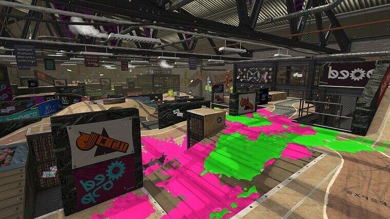 New BMX Inspired Splatoon 2 Map Revealed News Nintendo  Splatoon 2 Splatoon