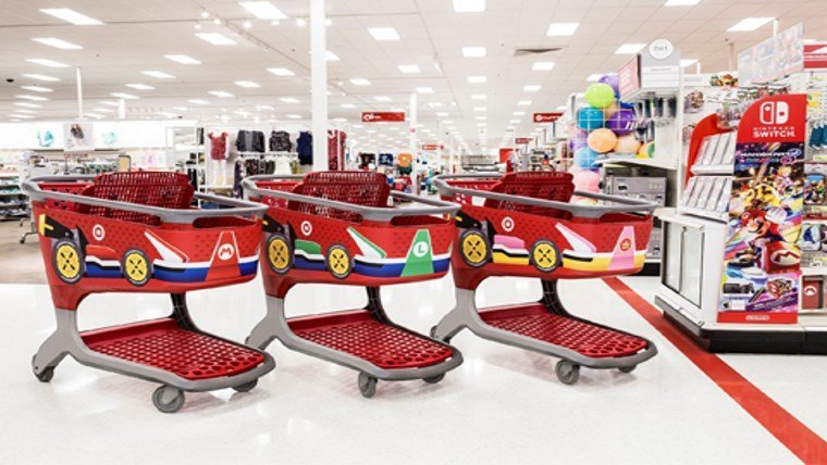 Mario Kart theming comes to Target stores across the country