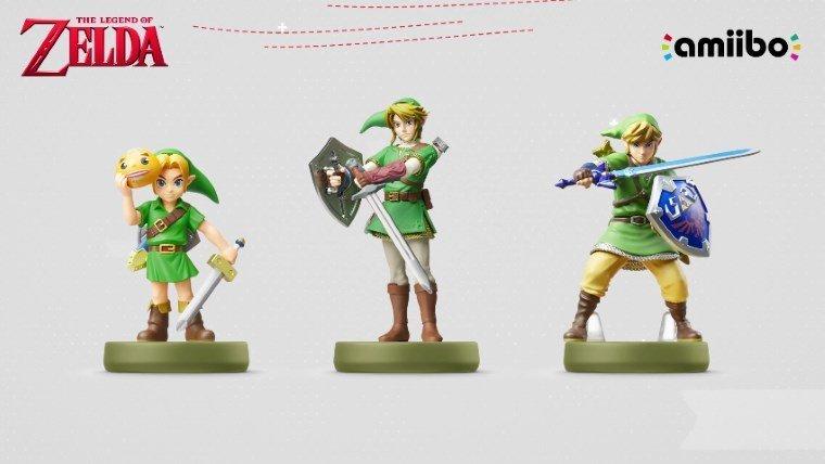 Three New Legend of Zelda Amiibo Revealed News  Legend of Zelda Amiibo