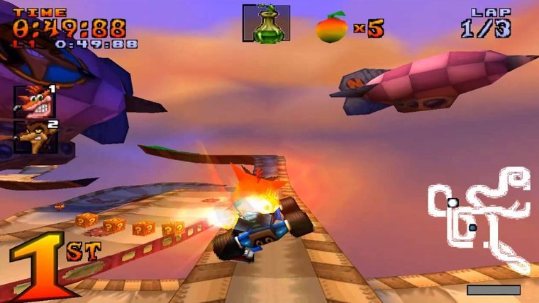 Crash Team Racing Could Get A Proper Remake On PS4