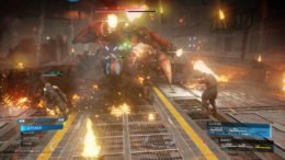 Final Fantasy VII Remake boss battle