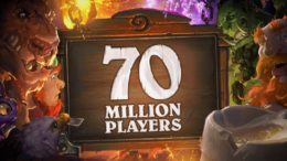 Hearthstone 70 million