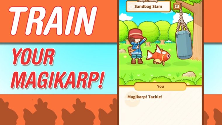 A New Pokémon Game, Magikarp Jump, Vaults Into the App Store