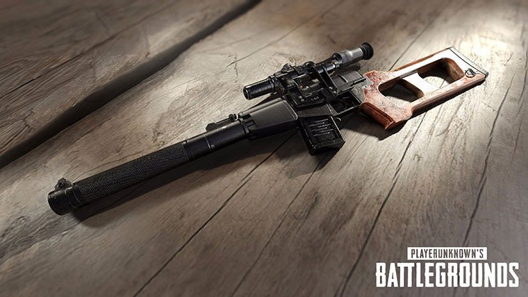 PUBG Getting Silenced Sniper Rifle VSS - Attack of the Fanboy