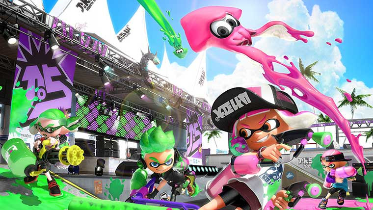 Splatoon 2 Single Player Revealed For Nintendo Switch News Nintendo  Splatoon 2 Splatoon