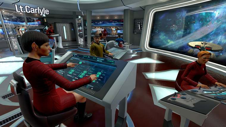 Star Trek: Bridge Crew Now Included With HTC Vive