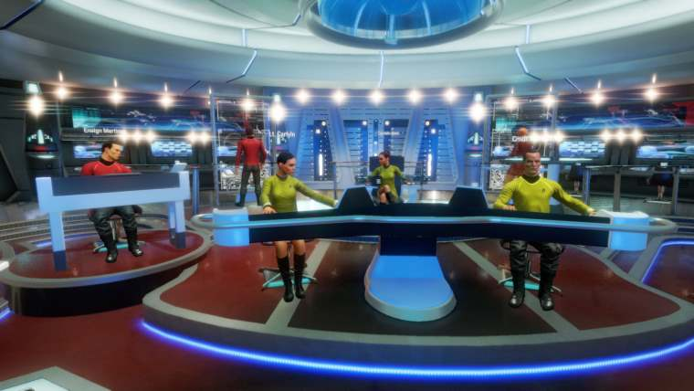 VR Game Star Trek: Bridge Crew Available for Cross-platform