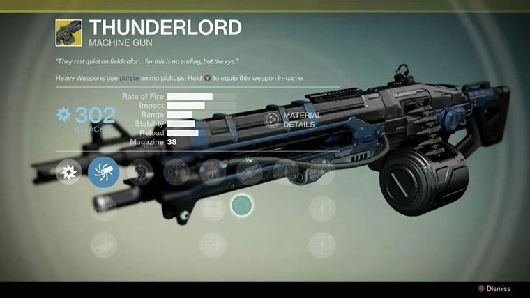 best perks for machine gun destiny