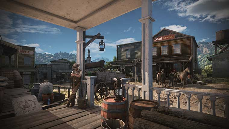 That 'leaked' RDR2 screenshot actually comes from Wild West Online