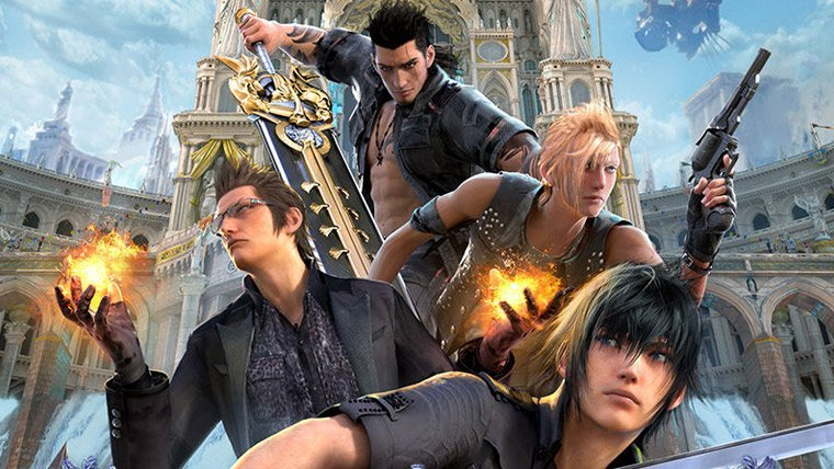 Mobile News  Square Enix Mobile Games Machine Zone Final Fantasy XV