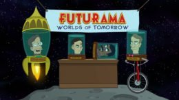 Futurama Worlds of Tomorrow trailer