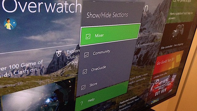 GameGuides  Xbox One Remove Tabs guide Dashboard
