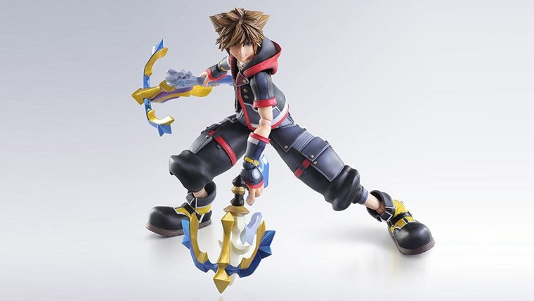 Kingdom Hearts 3 Sora Figure
