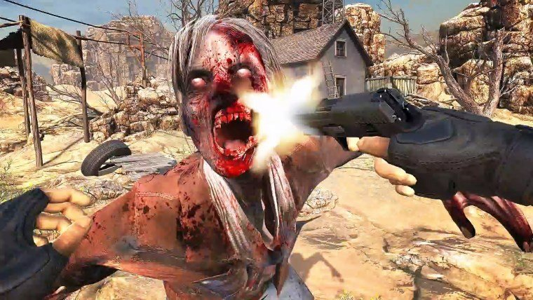 Zombie shooter Arizona Sunshine to launch this month on PSVR