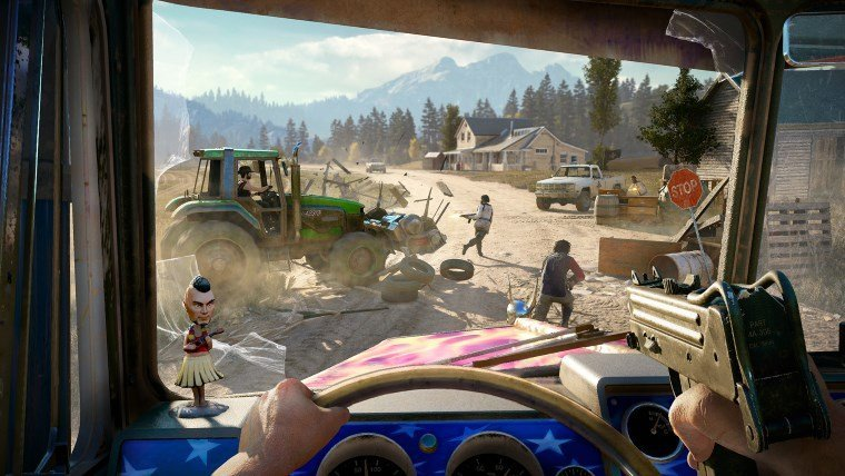 Hands-On: Far Cry 5 isn't a Revolution, but it's Still Tons of Fun Articles  Ubisoft Far Cry 5 Far Cry E3 2017