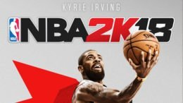 Kyrie Irving is the Other Cover Athlete for NBA 2K18
