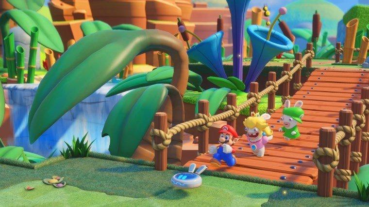 Articles  Nintendo Switch Mario+Rabbids: Kingdom Battle Mario
