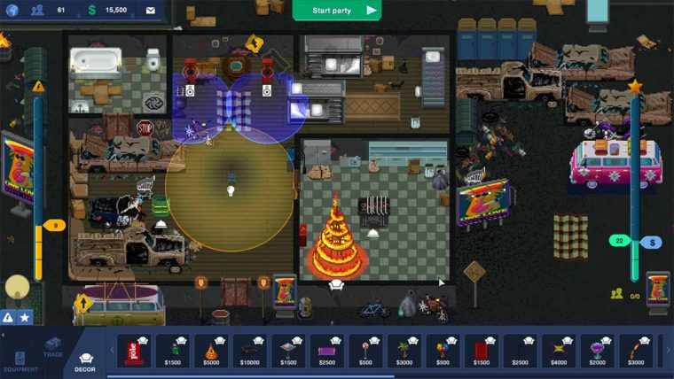 Preview: Party Hard Tycoon's Alpha Build is a promising and entertaining party management sim PC Gaming  Tiny Build Games Simulator PC Gaming Party Hard Tycoon Party Hard