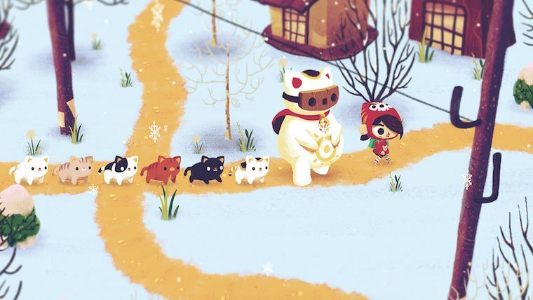 Upcoming Indie Game Mineko's Night Market is Full of Cats News  PC GAMES Mac