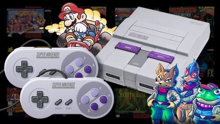 SNES Classic Edition Preorders Going Live at Various Retailers News  SNES Classic Edition Nintendo NES Classic