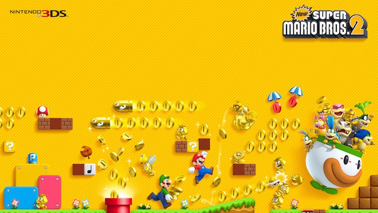 New Super Mario Bros. 2 2DS Bundle Coming Soon News  Nintendo Mario 3Ds 2DS