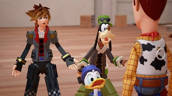 Kingdom Hearts 3 Launches 2018, Toy Story World Revealed News  Square Enix Kingdom Hearts 3 Disney