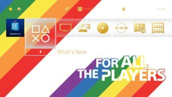 Sony Releases Free Pride Theme for PS4