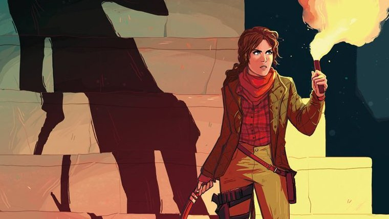 Tomb Raider: Survivor's Crusade Comic Series Coming This Fall News  Tomb Raider Square Enix Rise of the Tomb Raider Comics