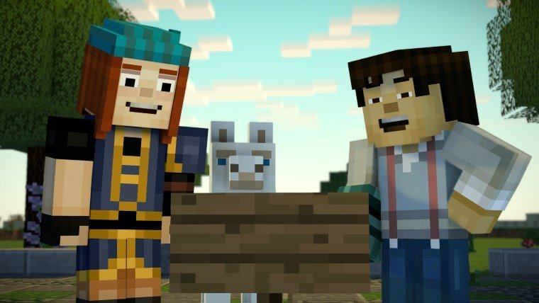 Minecraft Story Mode Season Two Episode 1 Review Attack Of The