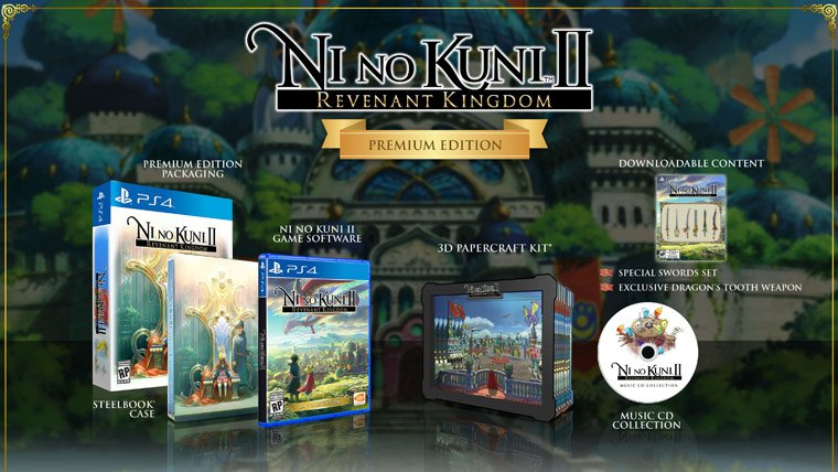 News  PlayStation 4 PC GAMES Ni no Kuni 2 Level-5