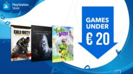 PS Store Games Under 20