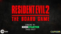 Resident Evil 2 Board Game