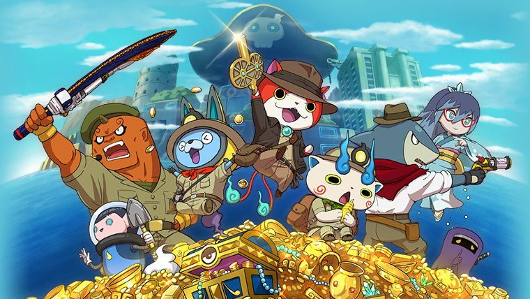 The Debut Trailer of Yo-kai Watch Busters 2 Is Here News  Yo-kai Watch Busters 2 Nintendo 3DS Level-5