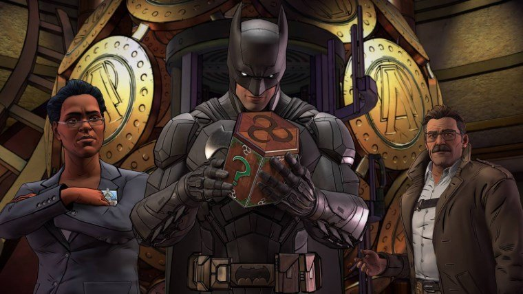 Telltale Games Batman: The Enemy Within Batman - The Telltale Series batman
